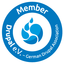 Member Drupal e.V. - German Drupal Association
